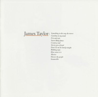 James Taylor  ‎– James Taylor's Greatest Hits