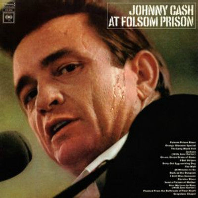Johnny Cash ‎– At Folsom Prison