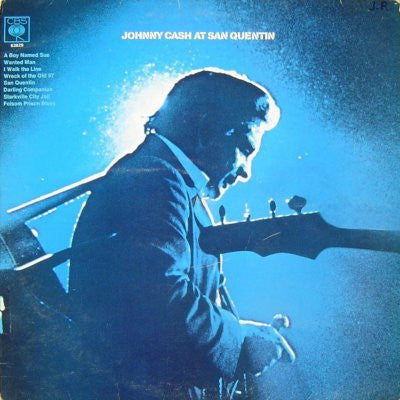 Johnny Cash ‎– Johnny Cash At San Quentin