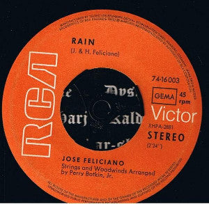 Products / Jose Feliciano ‎– Rain / She's A Woman