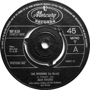 Julie Rogers ‎– The Wedding (La Novia)