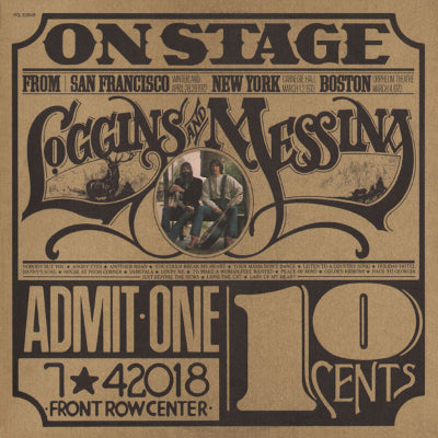 Loggins And Messina ‎– On Stage (2xLP)