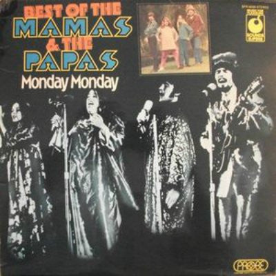 Mamas & The Papas, The ‎– Best Of The Mamas & The Papas - Monday Monday
