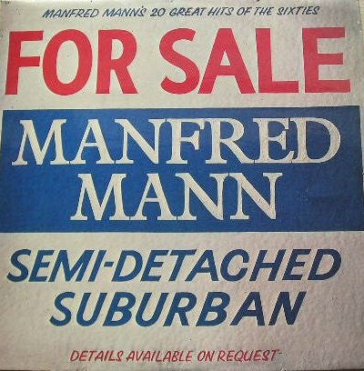 Manfred Mann ‎– Semi-Detached Suburban (20 Great Hits Of The Sixties)