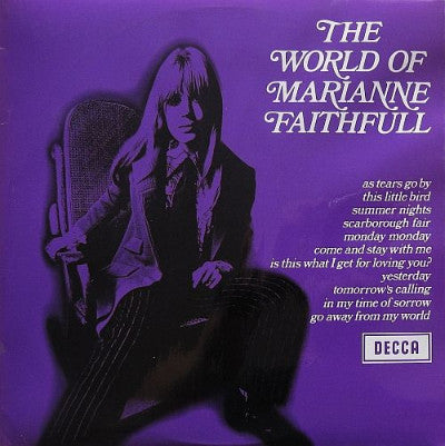 Marianne Faithfull ‎– The World Of Marianne Faithfull