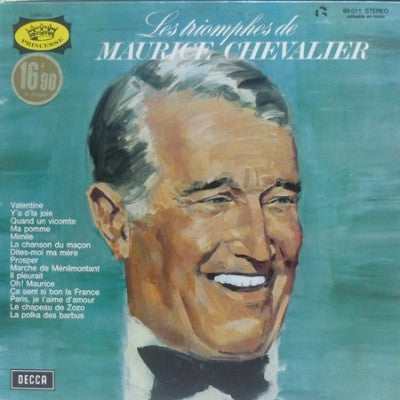Maurice Chevalier ‎– Les Triomphes De Maurice Chevalier