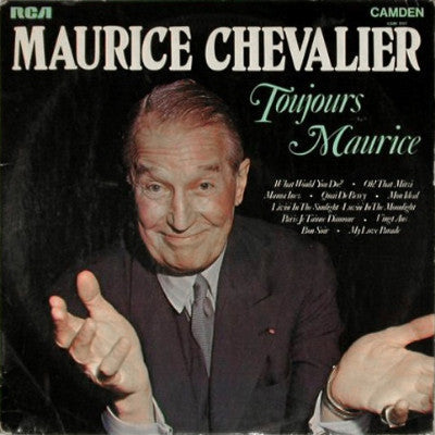 Maurice Chevalier ‎– Toujours Maurice