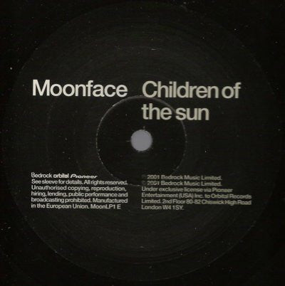 Moonface ‎– Children Of The Sun / Naan Madol