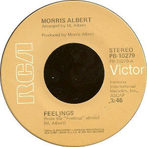 Morris Albert ‎– Feelings / This World Today Is A Mess