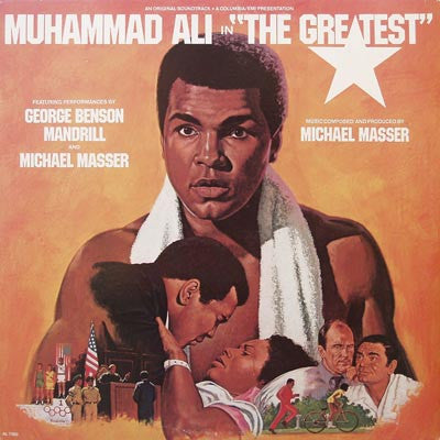 "Michael Masser / George Benson ‎– Muhammad Ali In ""The Greatest"" (Original Soundtrack)"