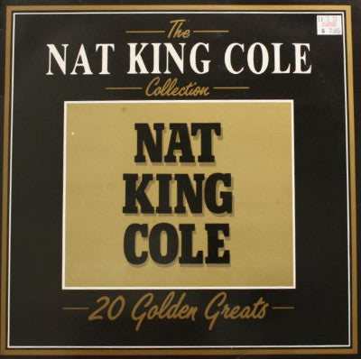 Nat King Cole ‎– The Nat King Cole Collection - 20 Golden Greats