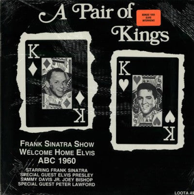 Sinatra and Elvis Presley - A Pair of Kings - 1960 Sinatra TV Show LP