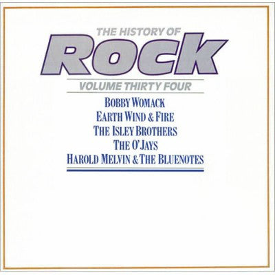 Various ‎– The History Of Rock - Volume Thirty Four (2xLP)