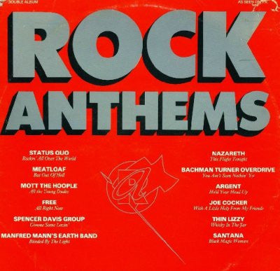 Various ‎– Rock Anthems (2xLP)