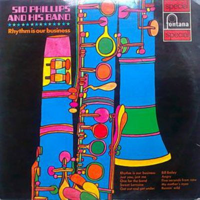 Sid Phillips And His Band ‎– Rhythm Is Our Business