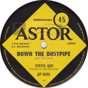 Status Quo ‎– Down The Dustpipe