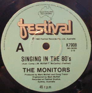 Monitors, The ‎– Singing In The 80's