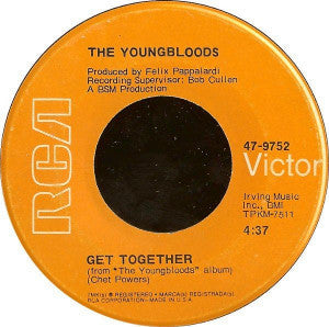 Youngbloods, The ‎– Get Together / Beautiful