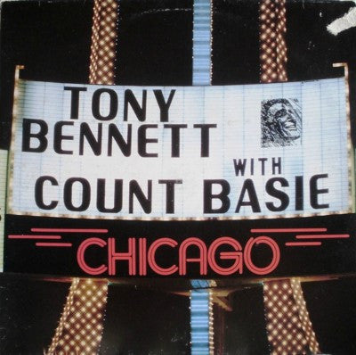 Tony Bennett With Count Basie ‎– Chicago