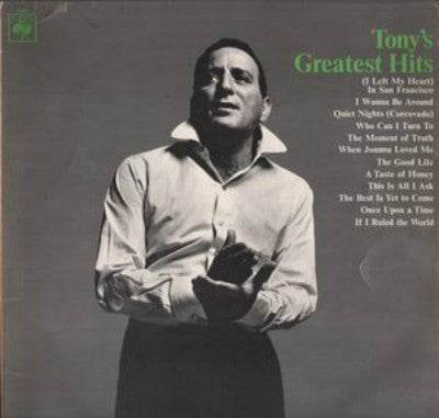 Tony Bennett ‎– Tony's Greatest Hits