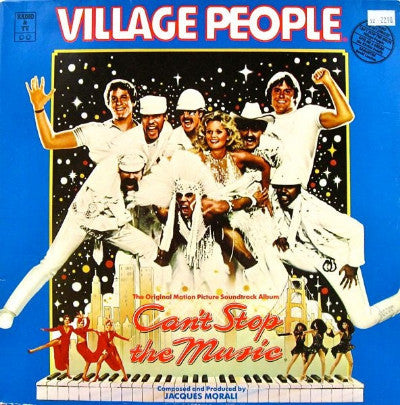 Village People ‎– Can't Stop The Music - The Original Motion Picture Soundtrack Album