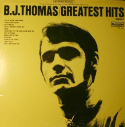 B.J. Thomas ‎– Greatest Hits Volume 1