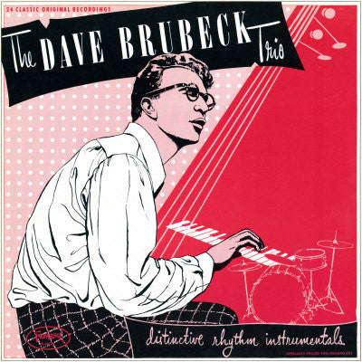 Dave Brubeck Trio, The ‎– Distinctive Rhythm Instrumentals (2xLP)