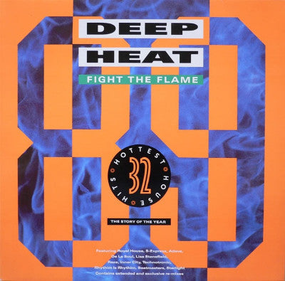 Various ‎– Deep Heat '89 - Fight The Flame (2xLP)