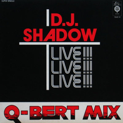 D.J. Shadow ‎– Q-Bert Mix-Live!!