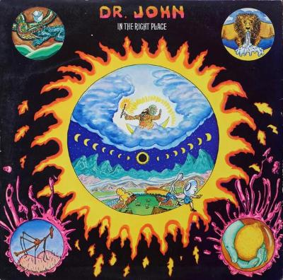 Dr. John ‎– In The Right Place