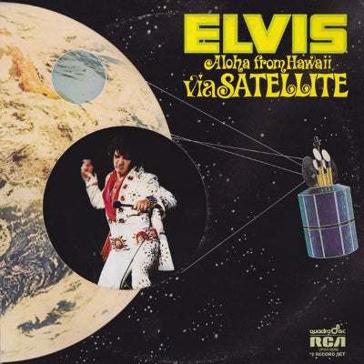 Elvis ‎– Aloha From Hawaii Via Satellite (2xLP)