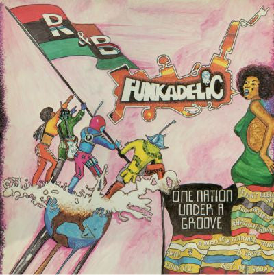 Funkadelic ‎– One Nation Under A Groove (180g LP)