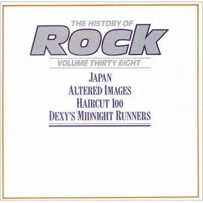 Various ‎– The History Of Rock - Volume Thirty Eight (2xLP)