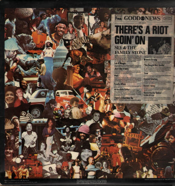 Sly & The Family Stone ‎– There's A Riot Goin' On