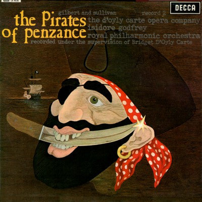The Pirates Of Penzance Record
