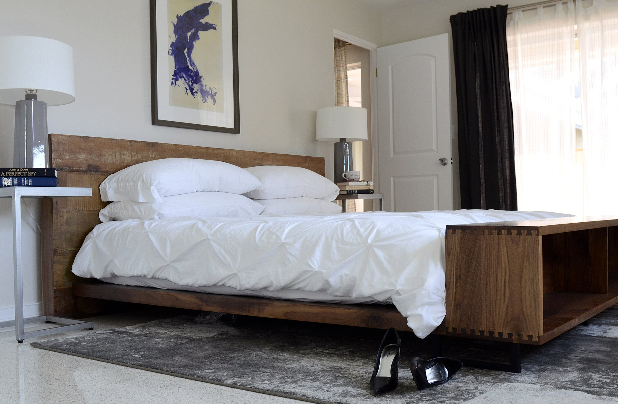 mid century modern furniture curated by professional designers - beds