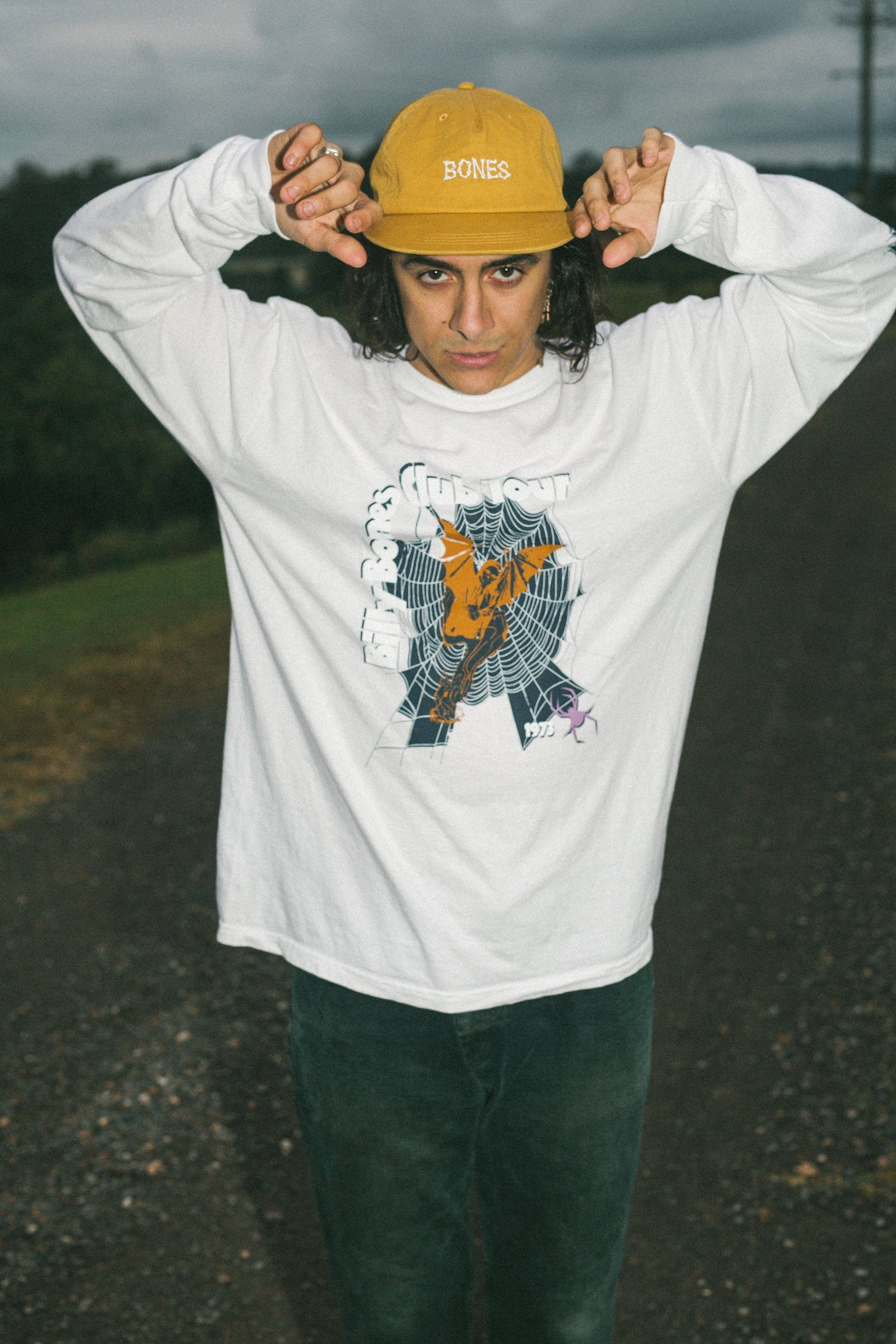 Spider LS Tee - White