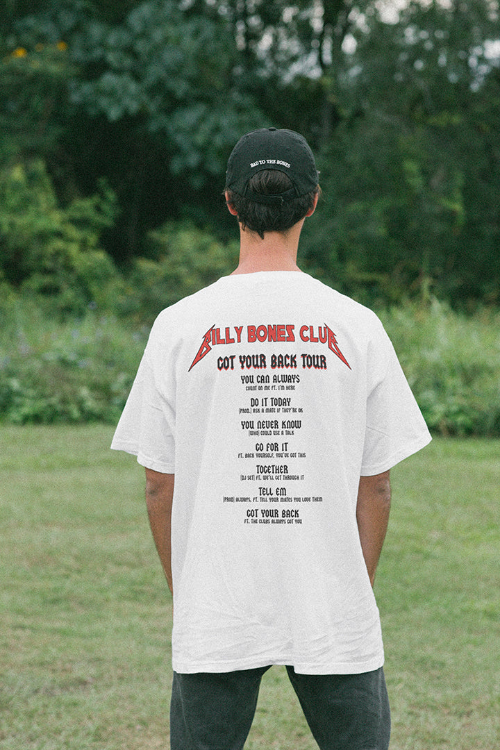 Got Your Back Tee - Vintage White