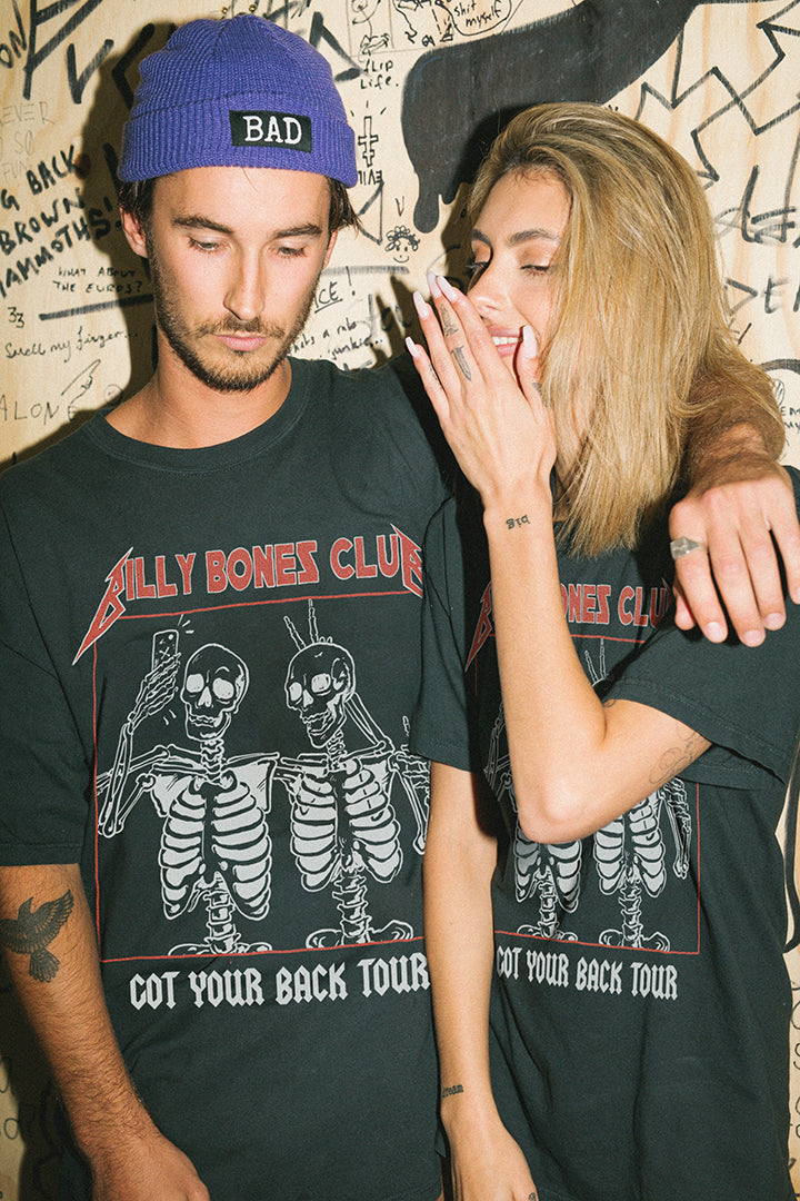 Got Your Back Tee - Vintage Black