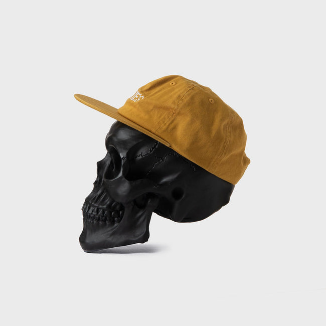 Bones Club Unstructured Cap - Mustard