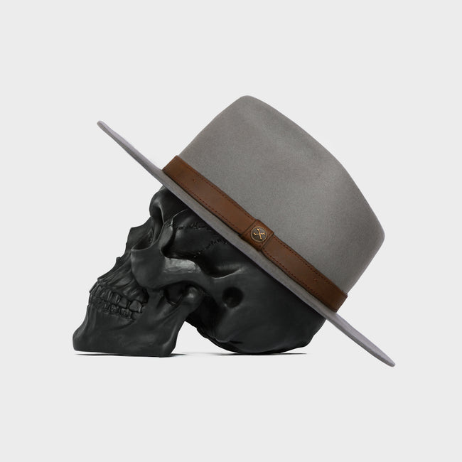 The Alpha Grey Fedora