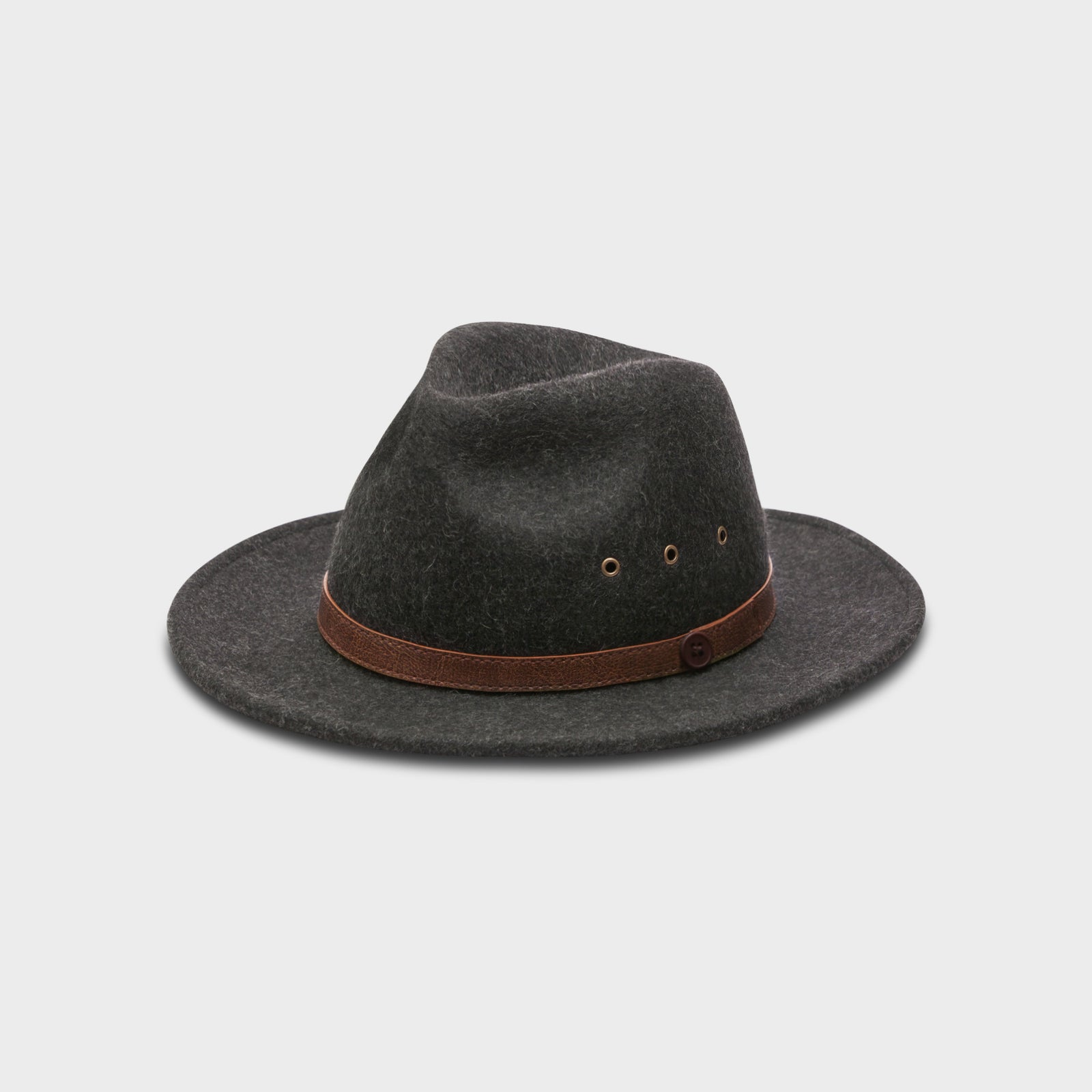 Shadow Grey Fedora