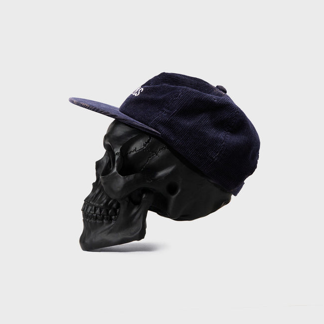Bones Club Cord Navy Cap