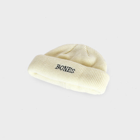 Black Bones - Docker Knit Beanie
