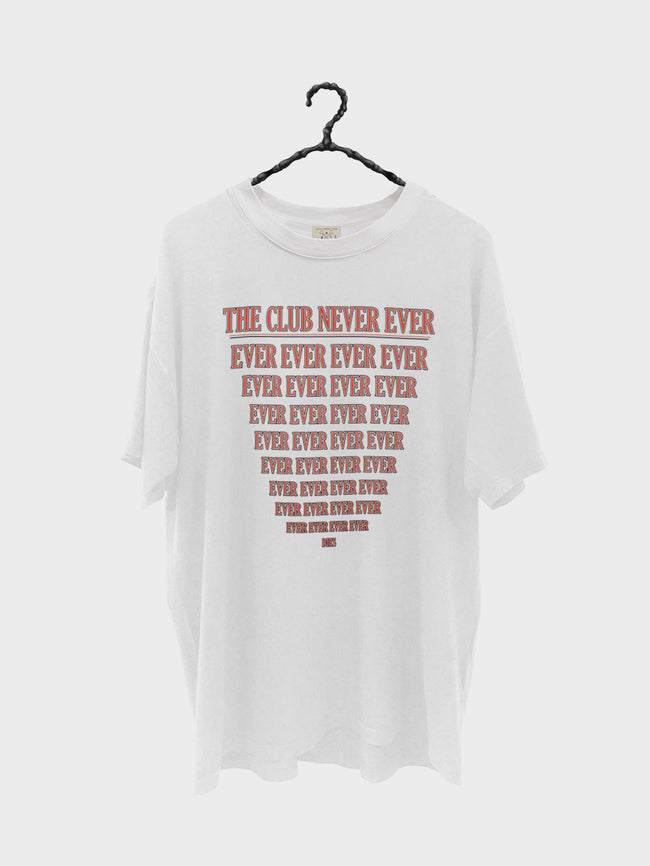 The Club Never Dies - Vintage White