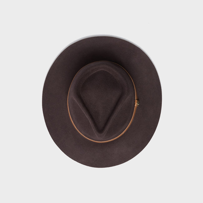 Kodiak Brown - Wide Brim Fedora