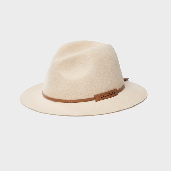 Luna Cream - Floppy Fedora