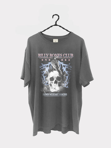 Pvcker Up Collab Tee - Side Effects Tour White