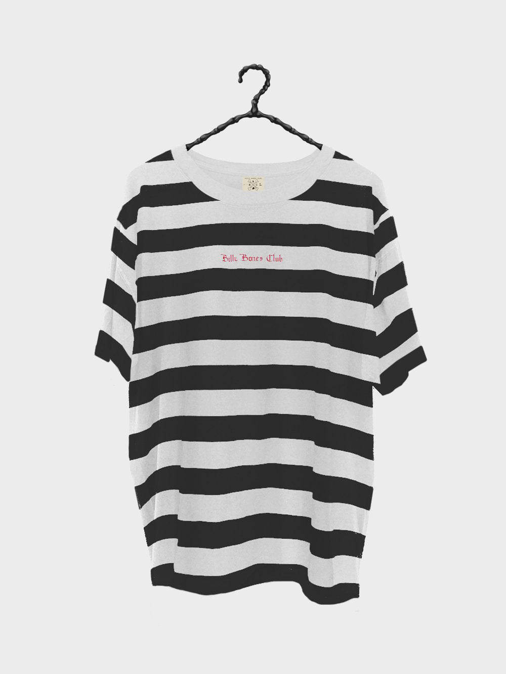White Stripes Tee - Black and White