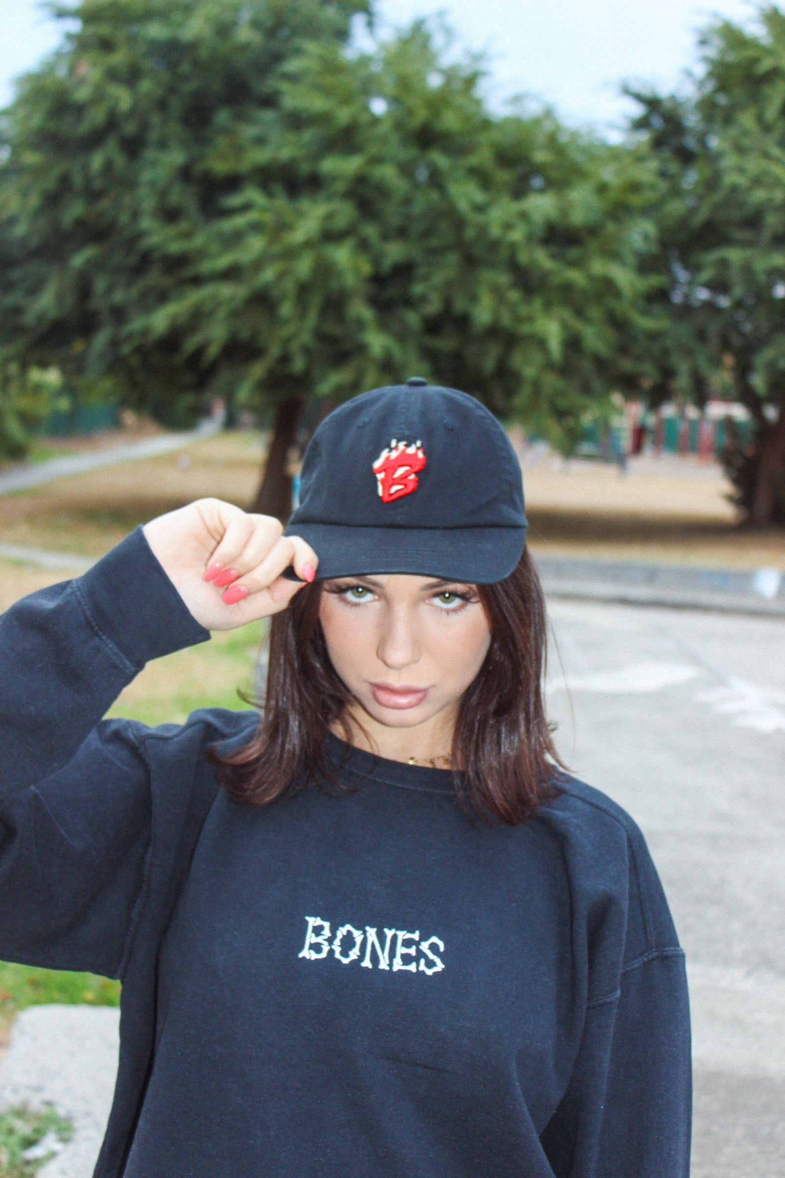 Bad To The Bones - Dad Hat